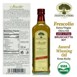 Frantoi Cutrera Frescolio Award Winning Oil from Sicily