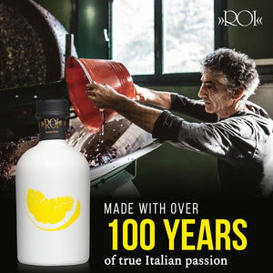ROI Lemon Extra Virgin Olive Oil Made with Over 100 Year