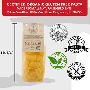 Certified Organic Gluten Free Pasta Made from All Natural Ingredients