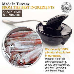 100% All Natural Squid Ink Made in Tuscany