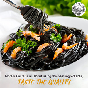 Morelli Organic Linguine Pasta with Squid Ink 8.8oz/250g