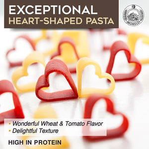 Morelli Pasta Exceptional Heart Shaped Pasta
