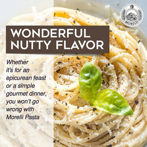 Wonderful Nutty Flavor Morelli Pasta
