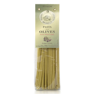 Morelli Fettuccine Pasta with Olives 8.8oz / 250g
