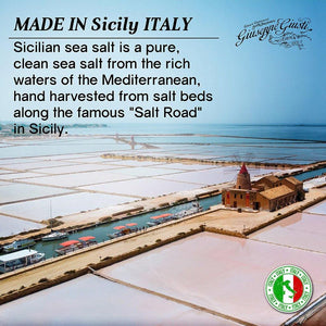 Sicilian Sea Salt Made in Sicily Italy