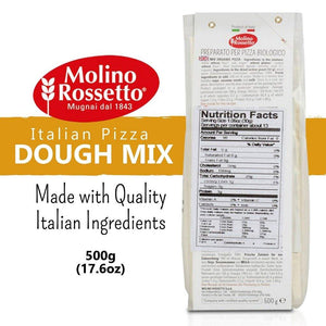 Molino Rossetto - Italian Pizza Dough Mix - 17.6oz (500g) - Mercato Di Bellina