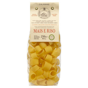 Morelli Riso e Mais Calamari Pasta Made with Rice and Corn, Gluten Free 8.8oz/250g