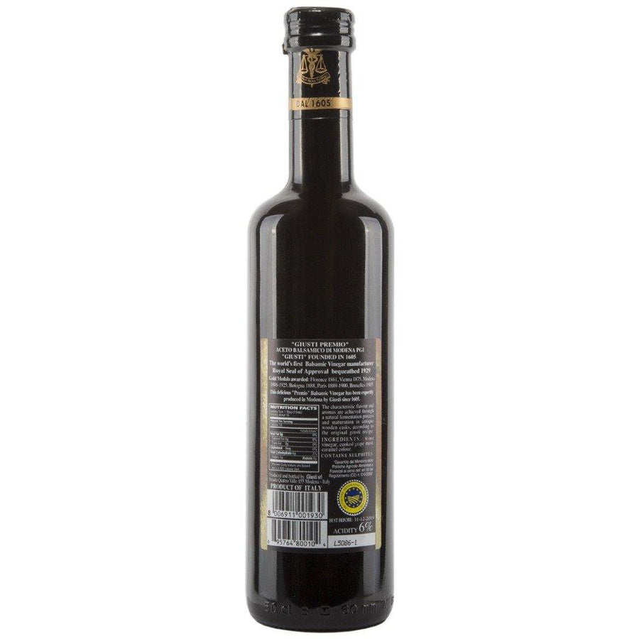 "Giuseppe Giusti ""Premio"" Balsamic Vinegar of Modena 16.9 fl.oz (500ml)"