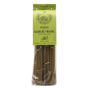 Morelli - Aglio e Basilico - Garlic and Basil Linguine Pasta