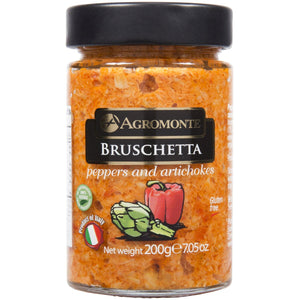 Agromonte Peppers and Artichoke Bruschetta Spread 7.05oz / 200g