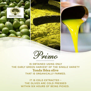 Frantoi Cutrera - Primo - Extra Virgin Olive Oil, 25.4 fl oz / 750ml - Mercato Di Bellina