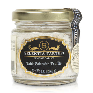 Selektia Tartufi Gourmet Course Salt with Italian Black Summer Truffles 100g
