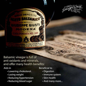 Giuseppe Giusti Balsamic Vinegar Health Benefits