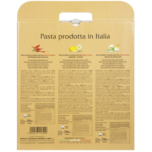 Nutrition Facts for Morelli Linguine Pasta Trio Set of 3