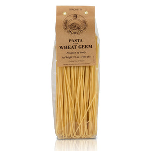 Morelli Pasta Spaghetti with Wheat Germ Imported from Italy 500g