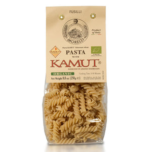 Morelli Pasta KAMUT Khorasan Wheat Organic Fusilli Imported from Italy
