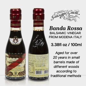 Banda Rossa Champagnottina Balsamic Vinegar from Modena Italy