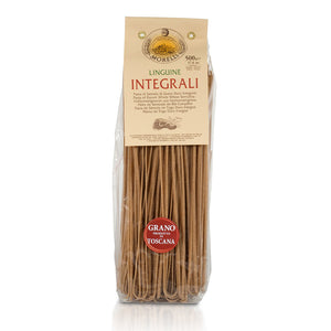 Morelli Pasta Integrali Whole Wheat Linguine Imported from Italy