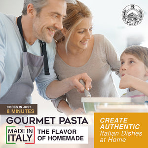 The Flavor of Homemade Gourmet Pasta Made in Italy