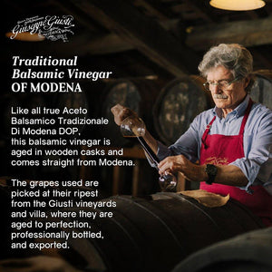 Giuseppe Giusti Balsamic Vinegar of Modena Traditional 15 year old DOP Certified