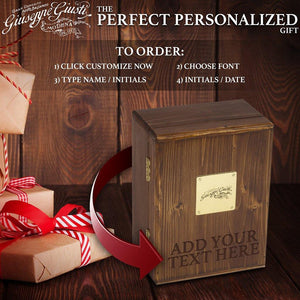 Giuseppe Giusti The Perfect Personalized Gift