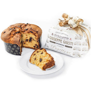 Giuseppe Giusti Italian Panettone Infused with Balsamic Vinegar