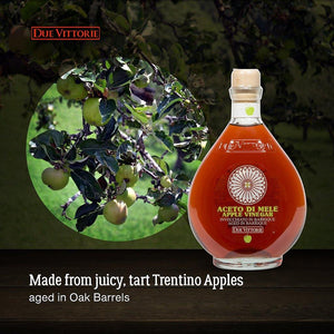 Due Vittorie Made from Juicy, Tart Trentino Apples