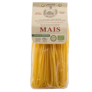 Pastificio Morelli - Mais Linguine - Organic Pasta Made with Corn, Gluten Free
