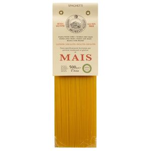 Morelli Gluten Free Spaghetti Pasta Made From Corn - Pasta Di Mais, 17.6 oz/500g