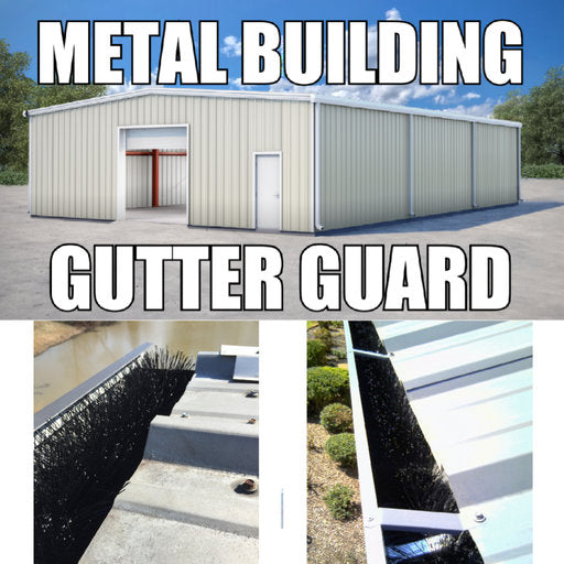Best Gutter Guard for Metal Buildings
