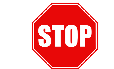 Stop - Uncommon Gutter Size