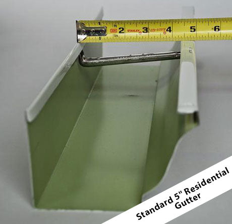 Gutter Guard Sizes/Dimensions - How to Measure Gutters