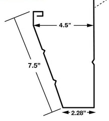 Fascia gutter measurement and profile