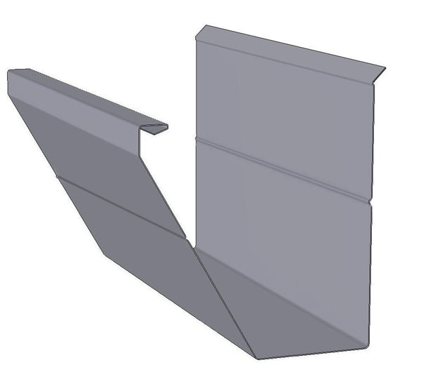 Fascia Rain Gutter Profile Diagram