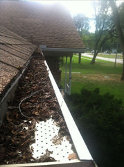 Gutter Screen Fail Debris Covering Top