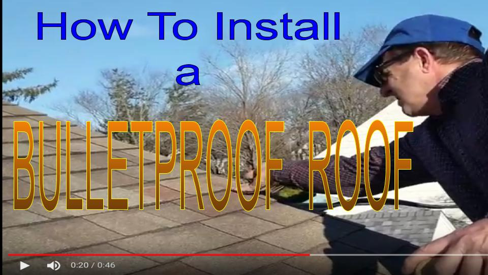 roofing techniques to install a very strong residential shingled  roof