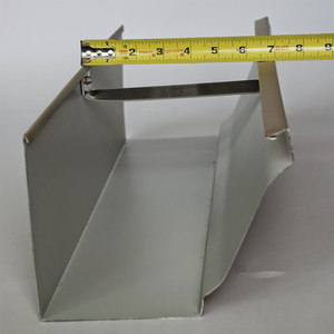 Large 7 Inch Commercial Gutter