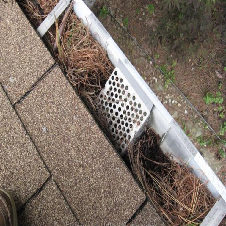 Gutter Guard Collapsed Inside Gutter