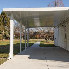 carport gutter, car port gutter; is a challenge for gutter guard