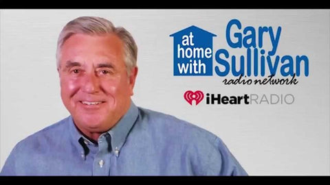 Home improvement radio expert Gary Sullivan recommending gutter guards