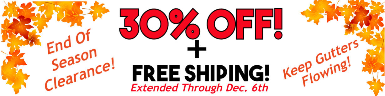 30 Percent Off + Free Shipping