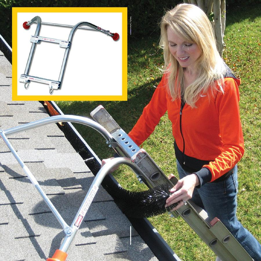 Ladder-Max Standoff Stabilizer - Increase Ladder Safety - GutterBrush
