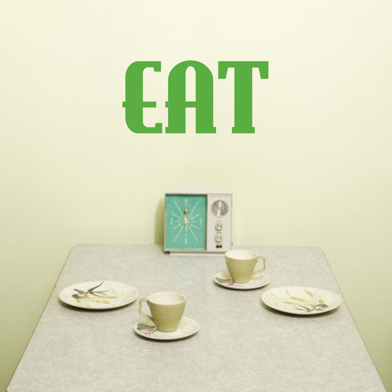 Eat Kitchen Wall Decal