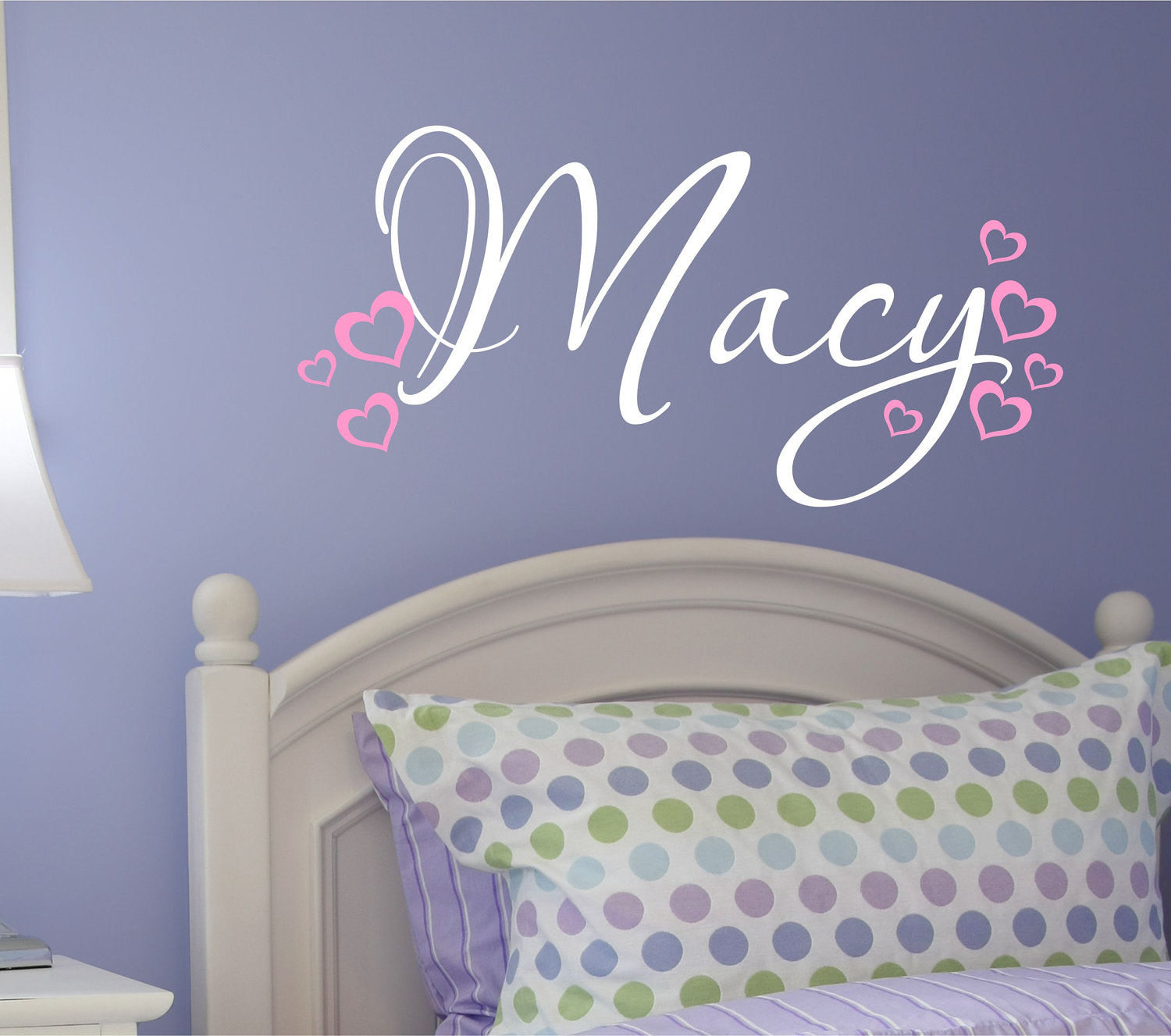 Childrens Wall Decals with Hearts