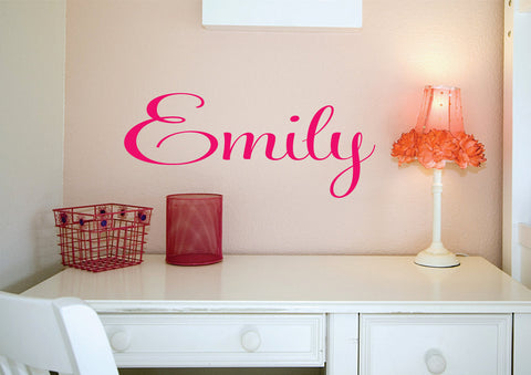Girls  Name Wall Decal