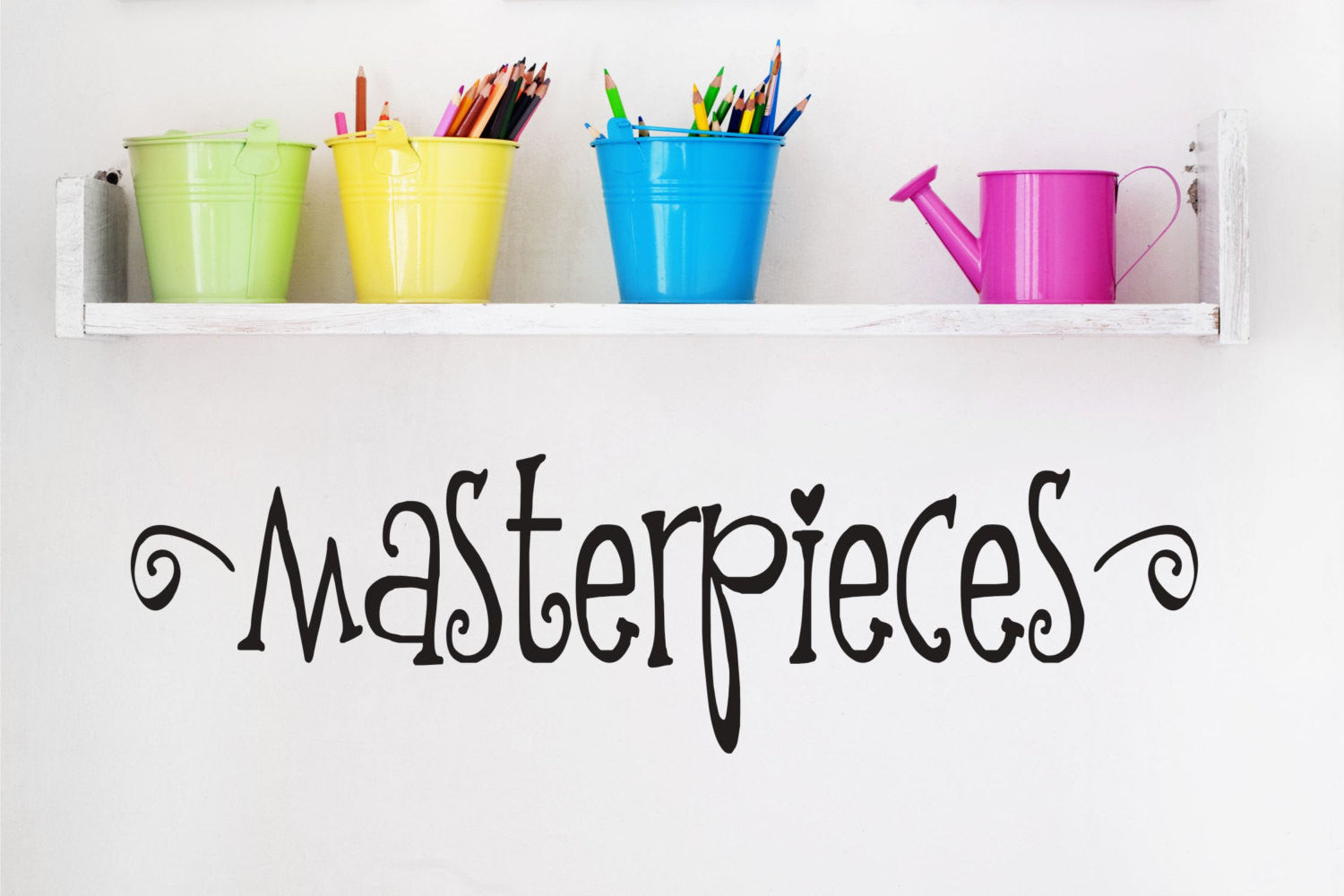 Masterpiece Wall Decal