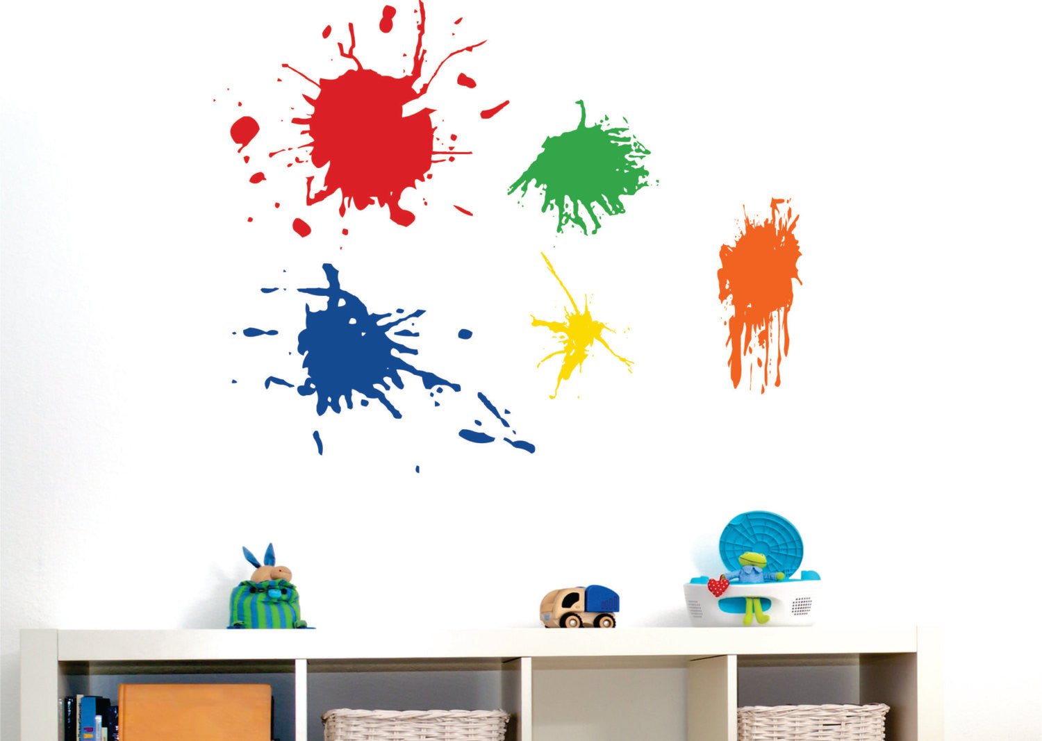 Paint Splotches Wall Decal