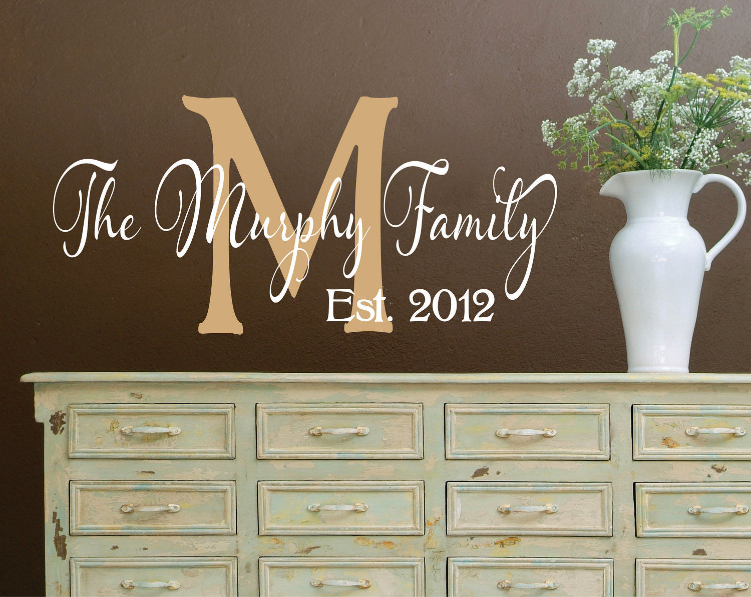 Personalized Family Name Signs