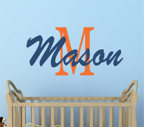 Custom Boys Name Wall Decal