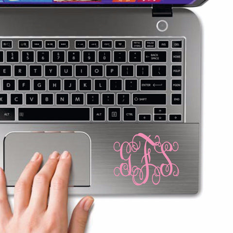Small Personalized Monogram Decals